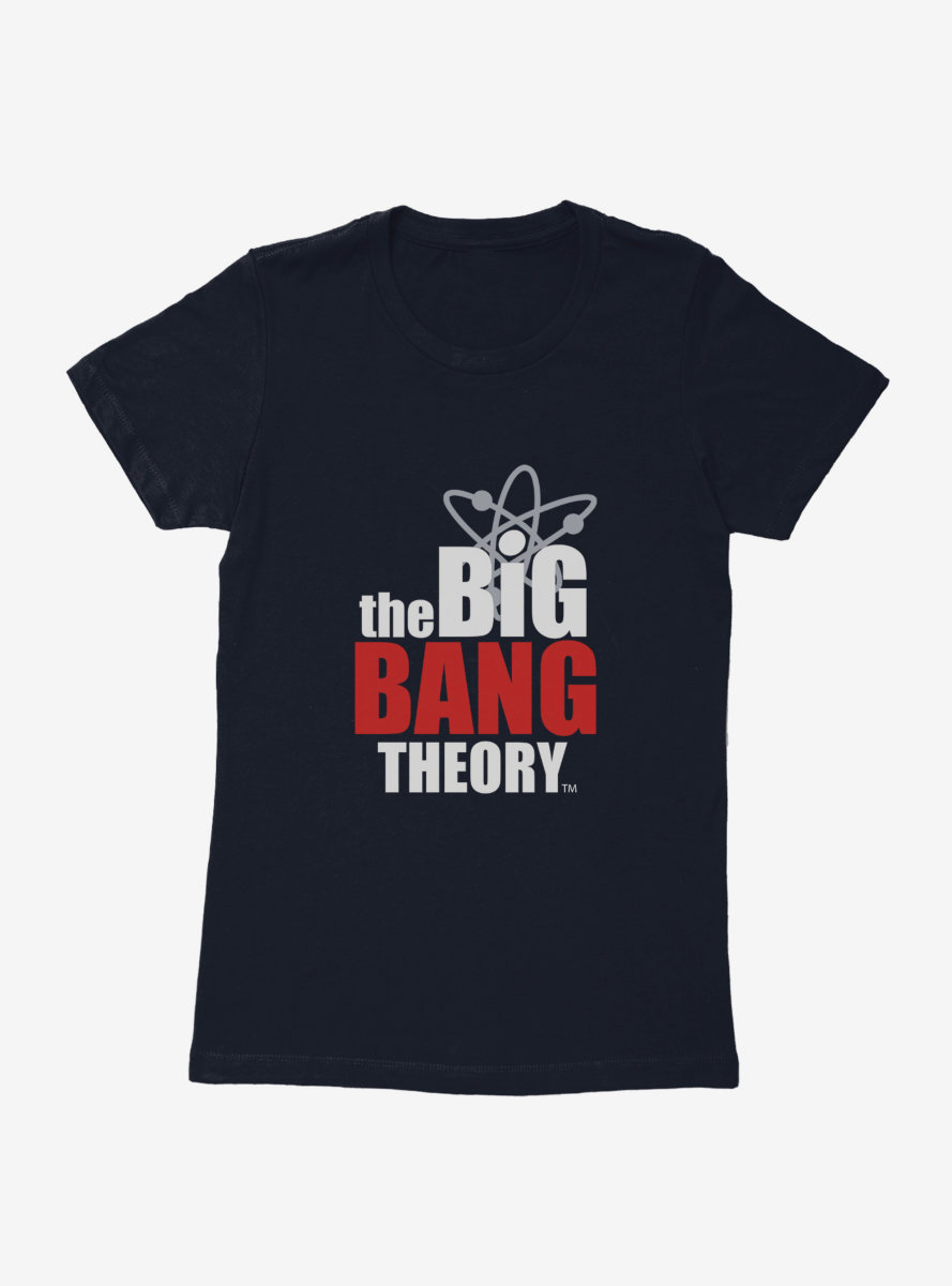 The Big Bang Theory Logo Womens T-Shirt