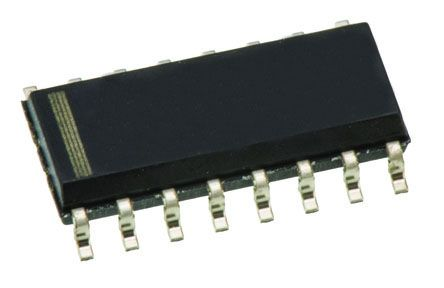 Texas Instruments SN74HC594D 8-stage Shift Register, Serial to Serial/Parallel, , Uni-Directional, 16-Pin SOIC (5)