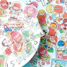 40 Stuecke Zufaelliger Aufkleber mit Karikatur Grafik