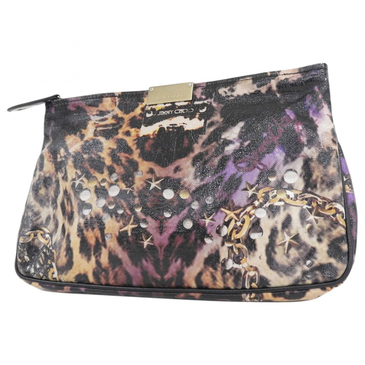 Jimmy Choo \N Multicolour Patent leather Clutch bag for Women \N