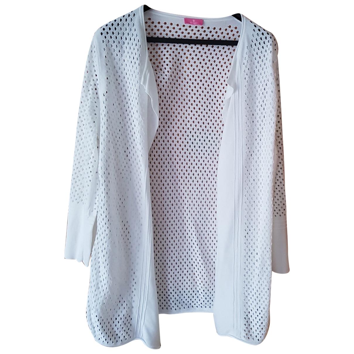 Basler \N Pullover in  Weiss Baumwolle