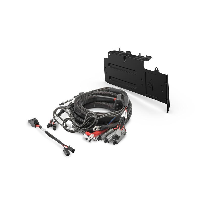 Rockford Fosgate RFX3-K4 4 AWG AMP Kit Can-Am Maverick X3 Models