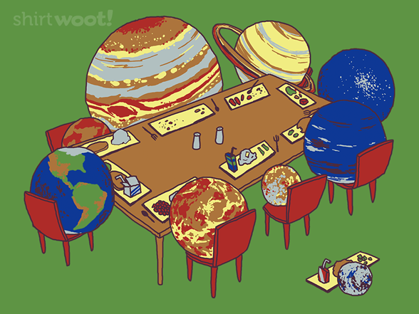You're Not One Of Us Anymore, Pluto. T Shirt