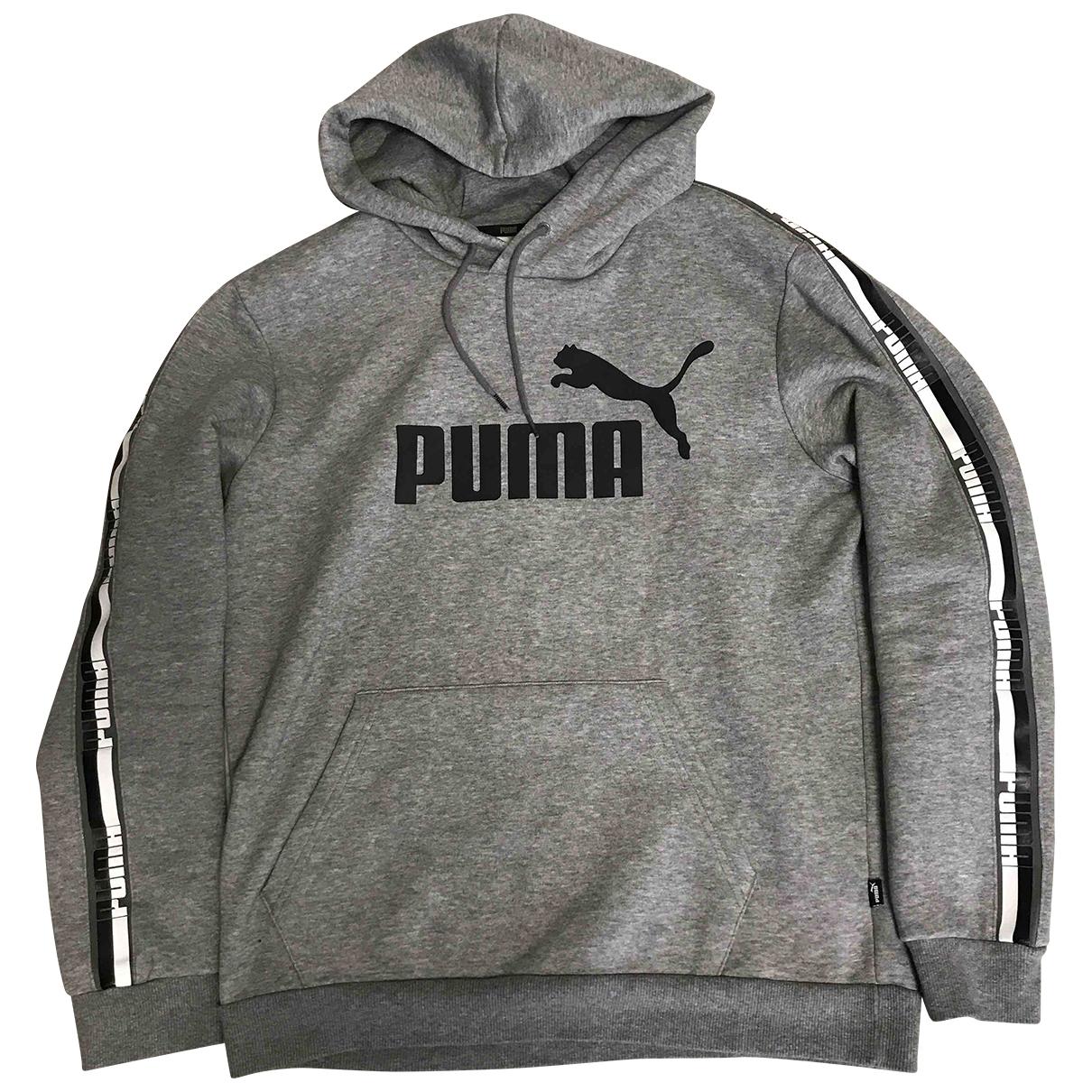 Puma \N Pullover.Westen.Sweatshirts  Grau