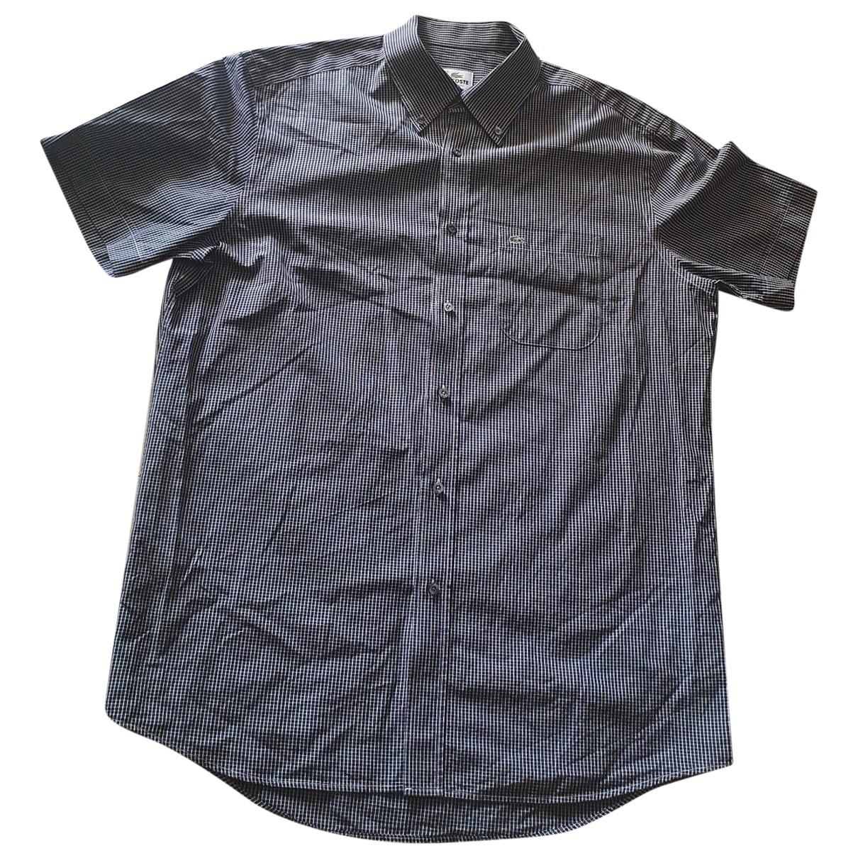Lacoste \N Hemden in  Blau Baumwolle