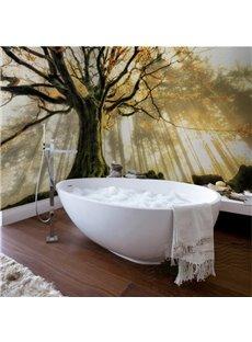 Sunlight Big Tree Pattern Design Decorative Waterproof 3D Bathroom Wall Murals