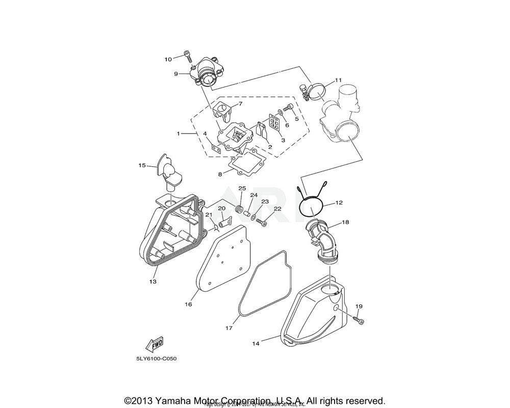 Yamaha OEM 5BM-13621-00-00 GASKET, VALVE SEAT