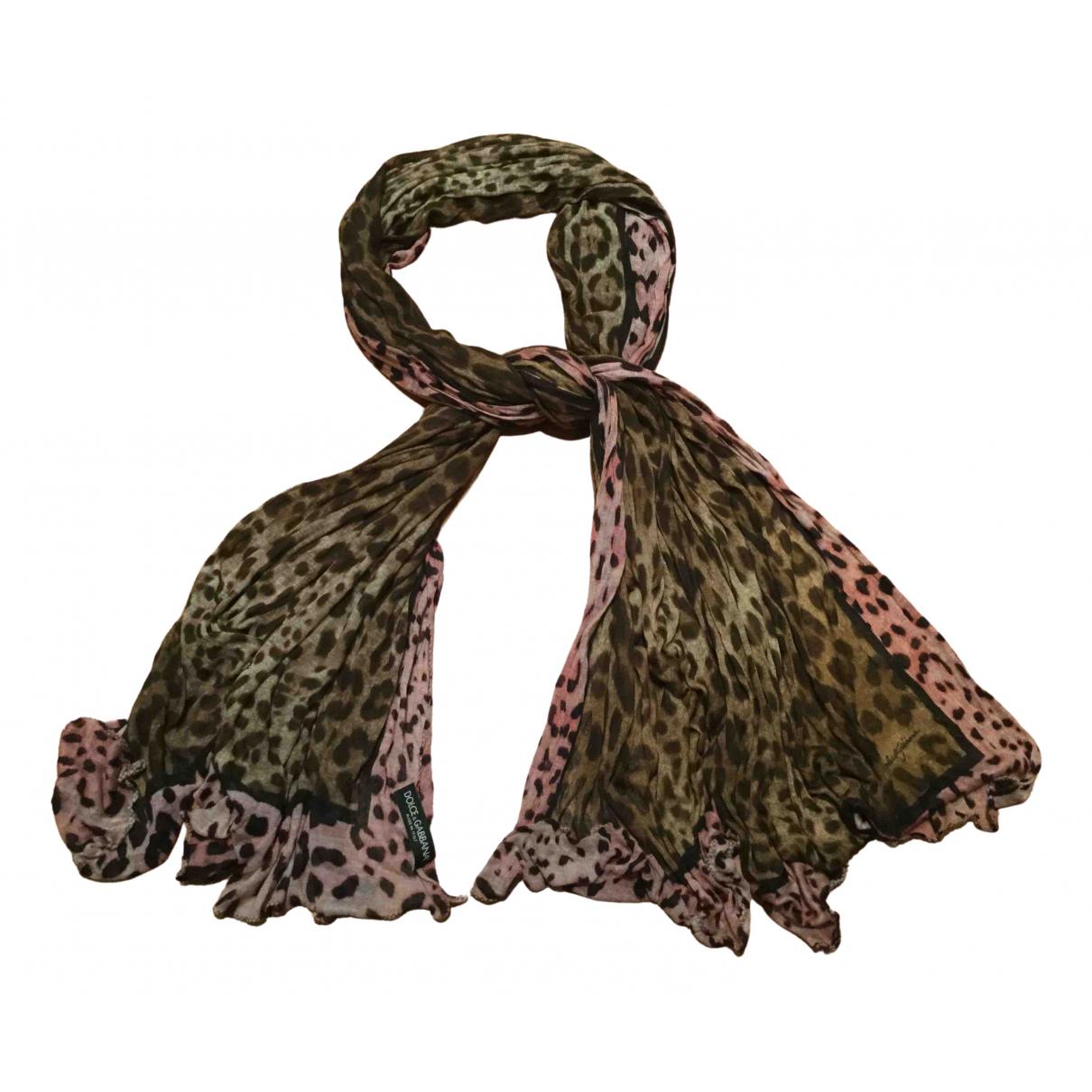 Dolce & Gabbana \N Schal in  Braun Kaschmir