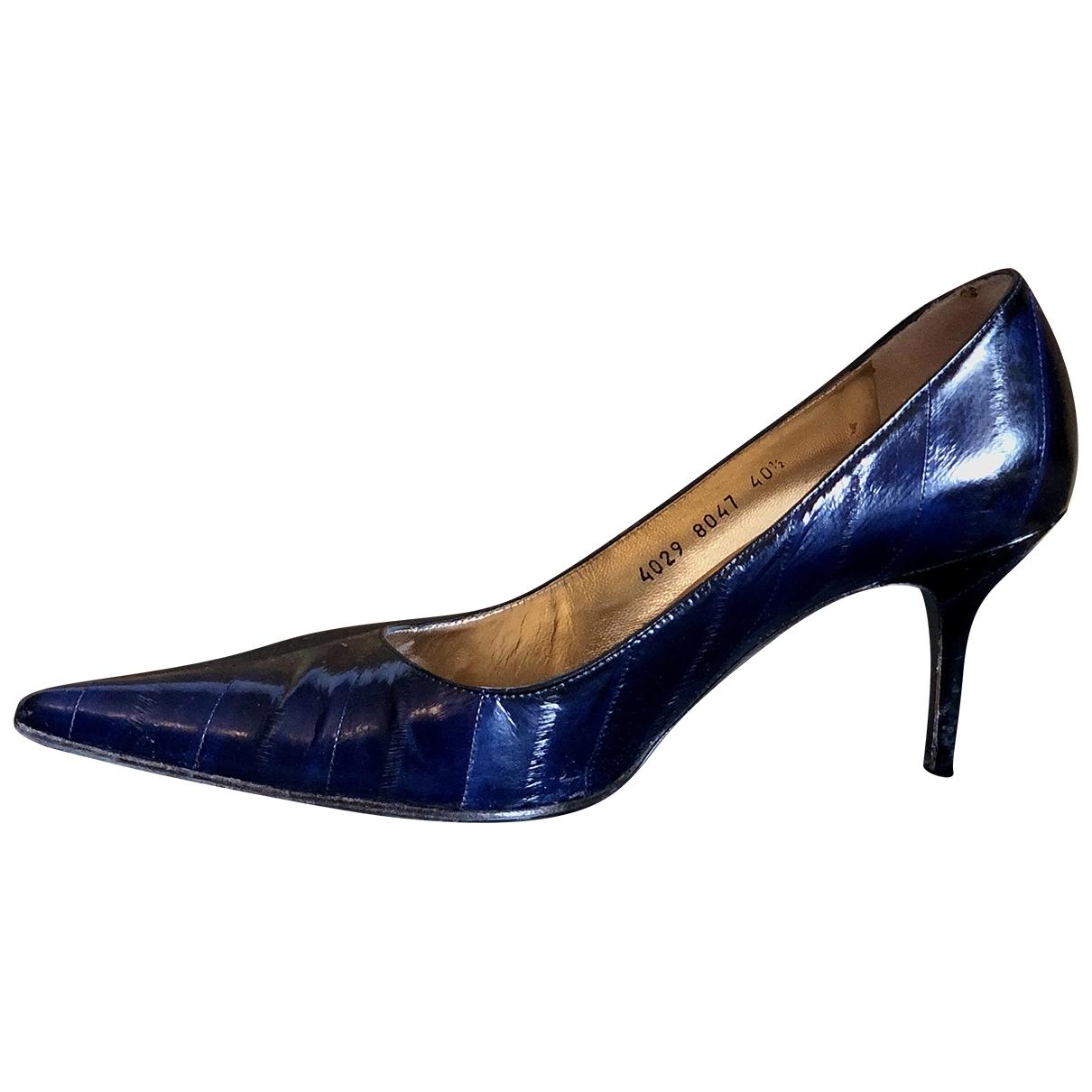 Dolce & Gabbana \N Pumps in  Blau Krokodil
