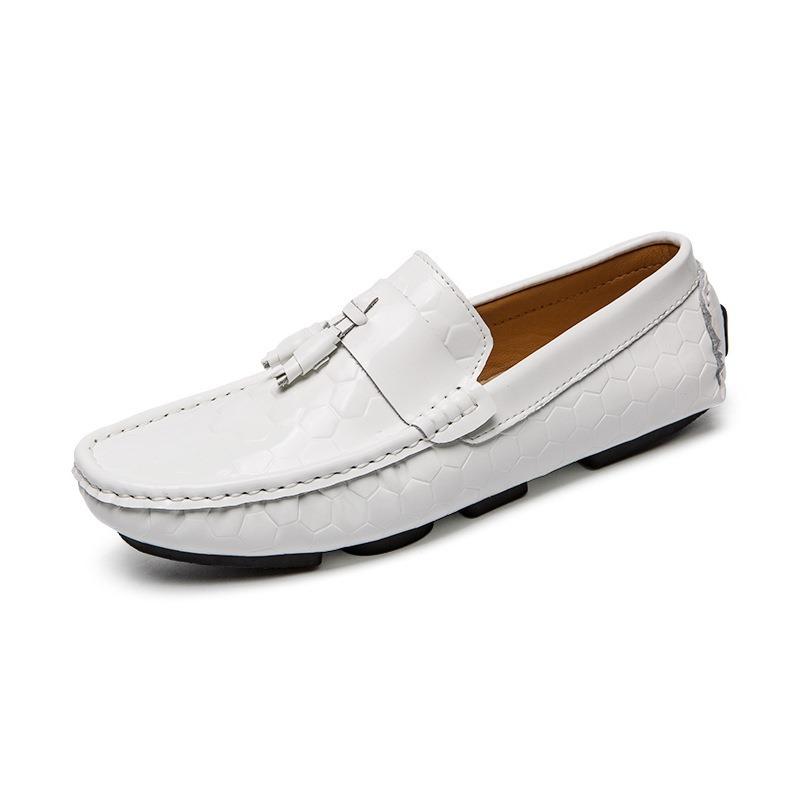 Ericdress PU Slip-On Low-Cut Upper Plain Round Toe Men's Shoes