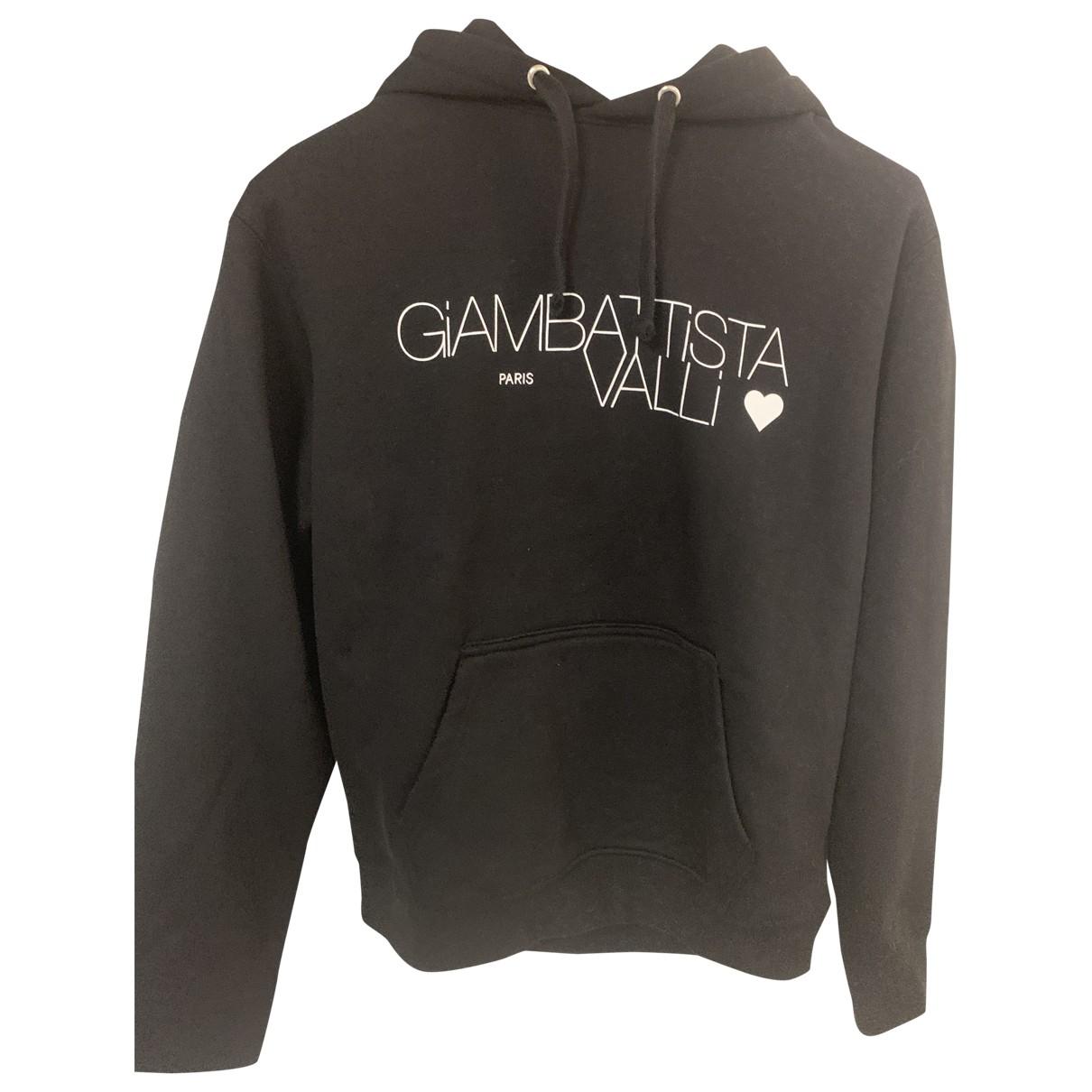 Giambattista Valli X H&m \N Pullover.Westen.Sweatshirts  in  Schwarz Baumwolle