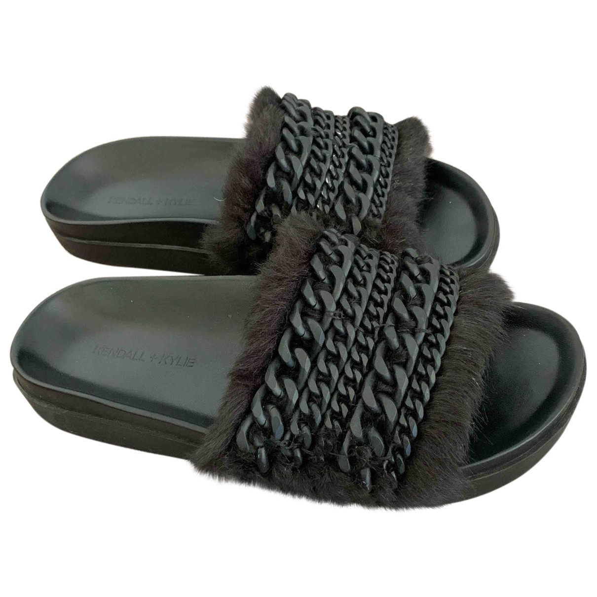 Sandalias de Pelo sintetico Kendall + Kylie