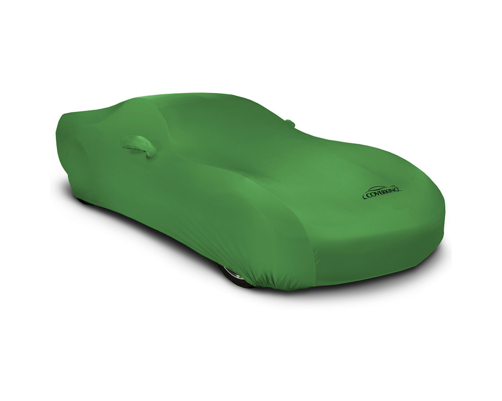 Coverking CVC3SS86ML1005 CVC3SS86 Satin Stretch Synergy Green Custom Car Cover McLaren 650S 15-16