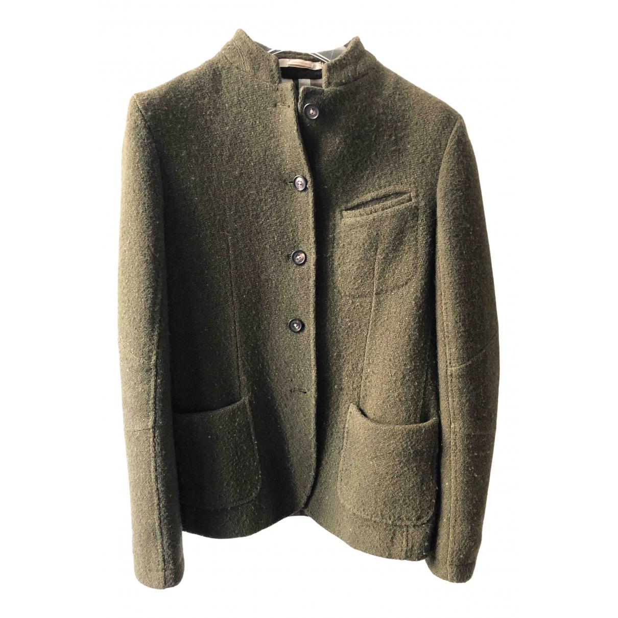 Massimo Alba - Veste   pour femme en laine - vert