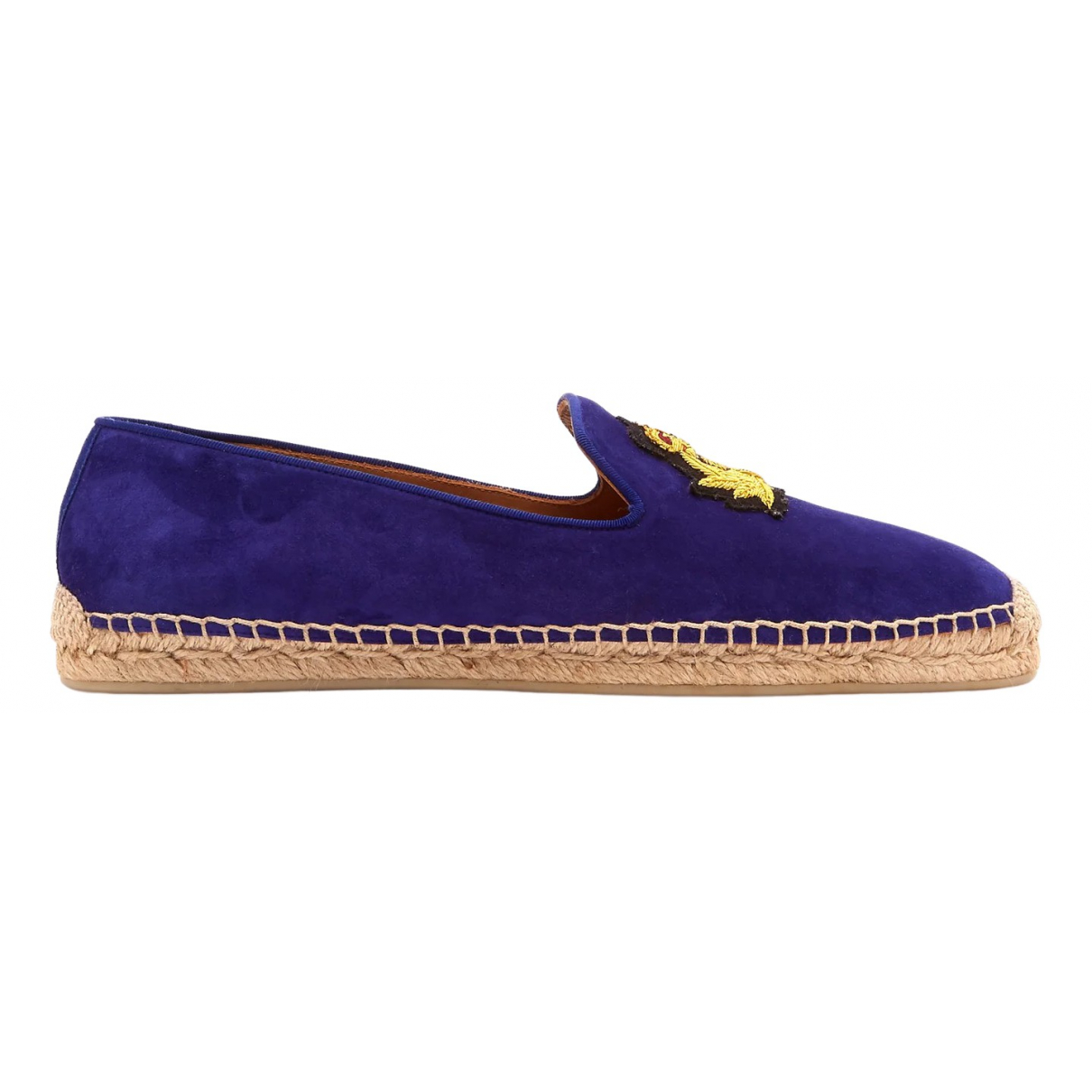 Christian Louboutin \N Blue Cloth Espadrilles for Men 40 EU