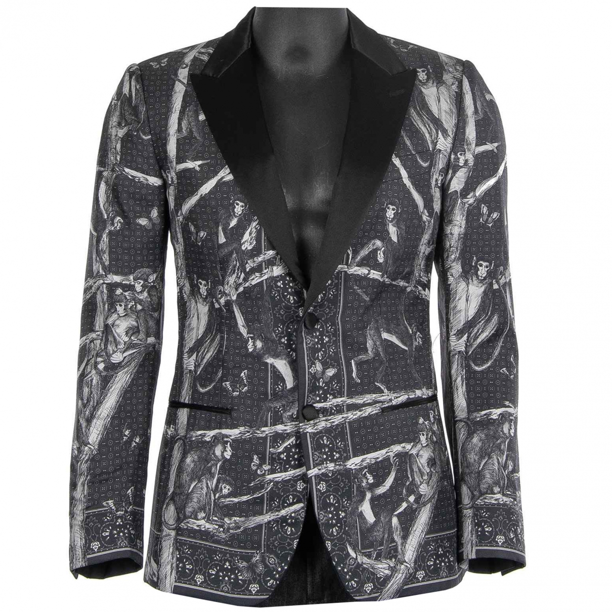 Dolce & Gabbana \N Grey Silk jacket  for Men 46 IT