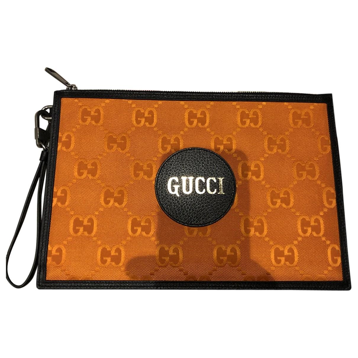 Gucci - Petite maroquinerie   pour homme en toile - orange