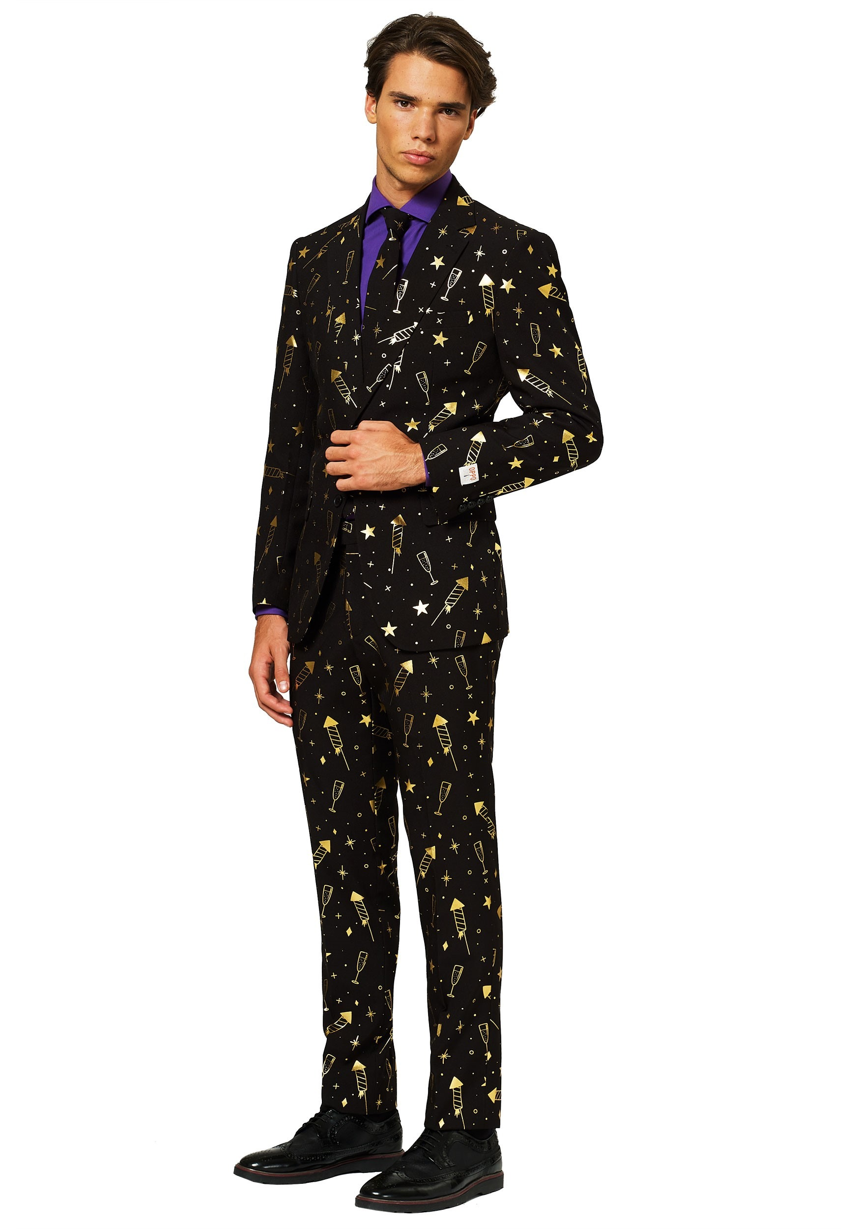 Opposuit Fancy Fireworks Suit Mens