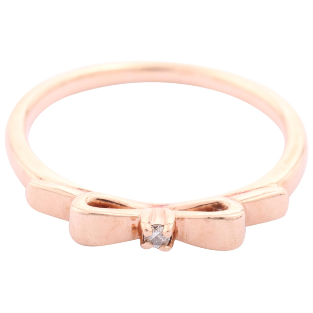 - Bague   pour femme en or rose - dore