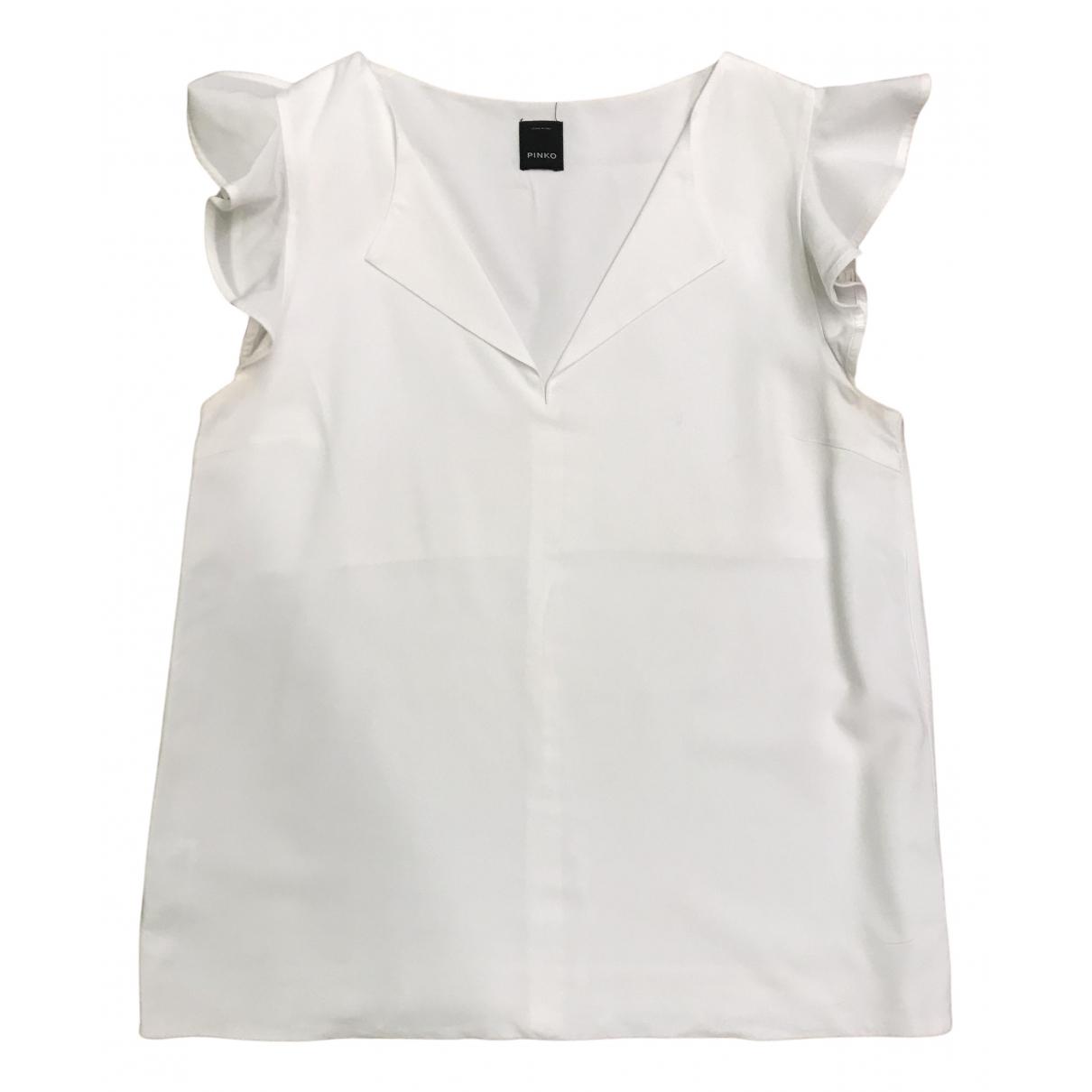 Pinko - Top   pour femme - blanc