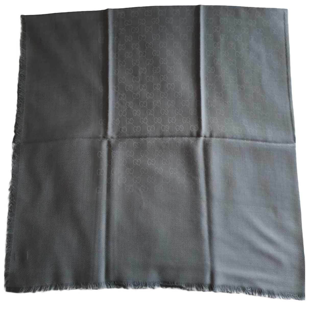 Gucci \N Grey Wool scarf & pocket squares for Men \N
