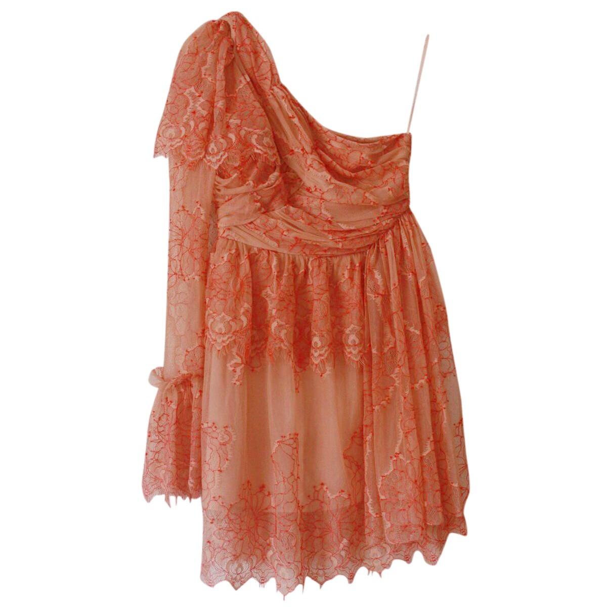 Alice Mccall \N Kleid in  Rosa Spitze