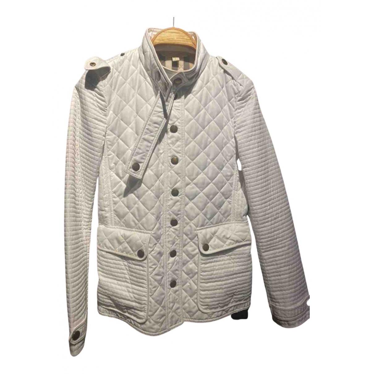 Burberry - Manteau   pour femme - blanc