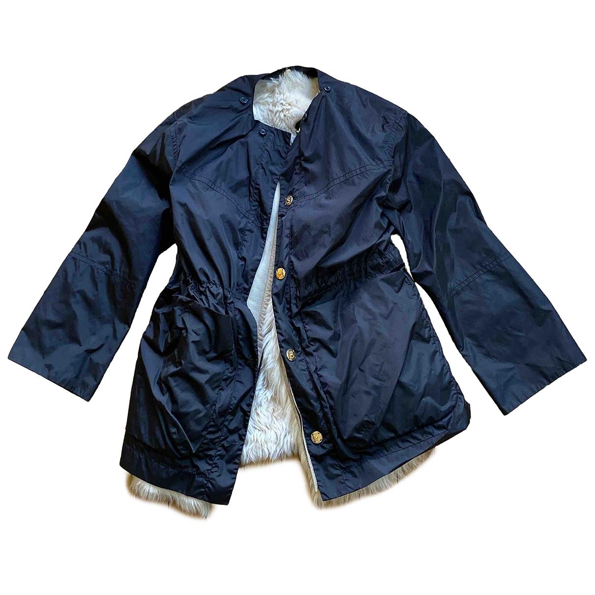 Louis Vuitton - Manteau   pour femme en mouton - noir