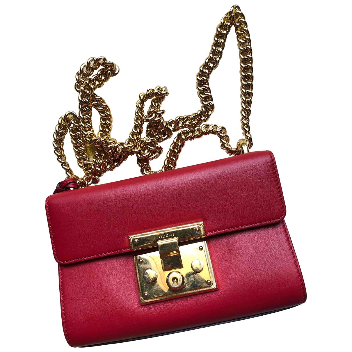 Gucci Padlock Red Leather handbag for Women \N