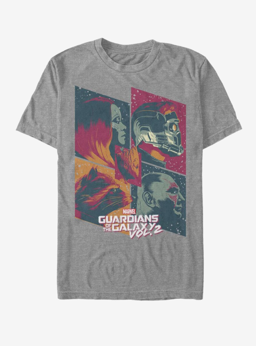 Marvel Guardians Of The Galaxy Heroes T-Shirt