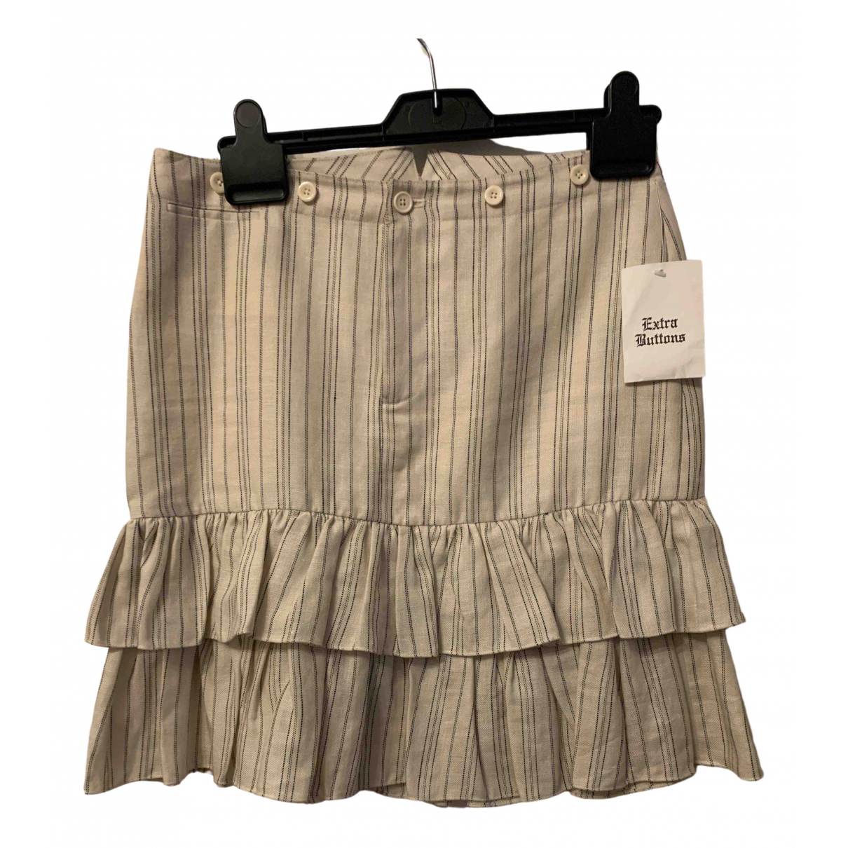 Ralph Lauren - Jupe   pour femme en lin - beige