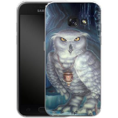 Samsung Galaxy A3 (2017) Silikon Handyhuelle - Ed Beard Jr - Wizard Messenger Owl von TATE and CO