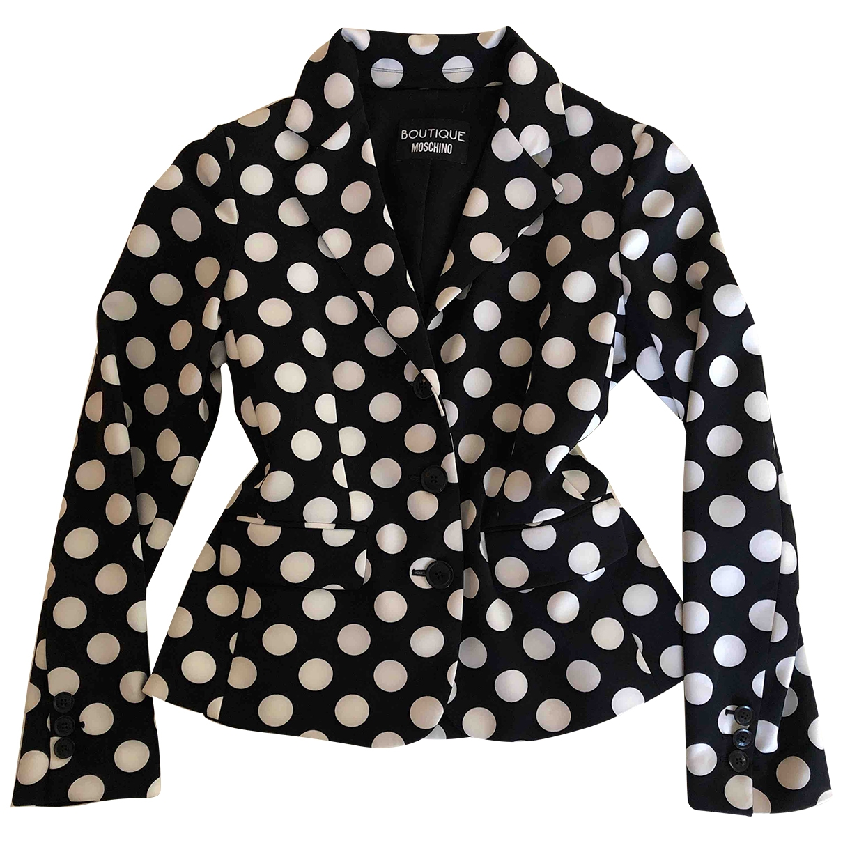 Moschino \N Black jacket for Women 42 IT
