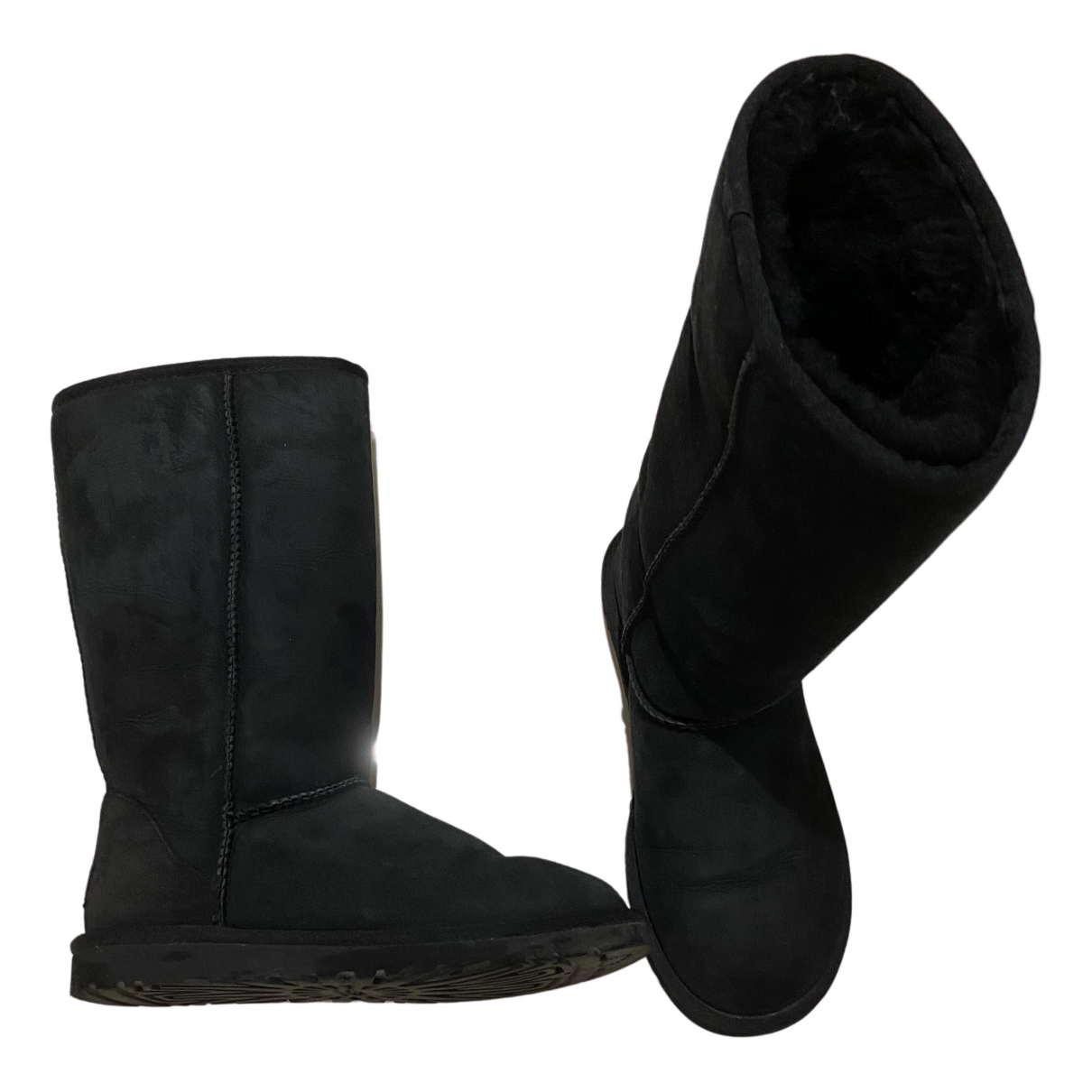 Ugg N Black Suede Boots for Women 36 EU