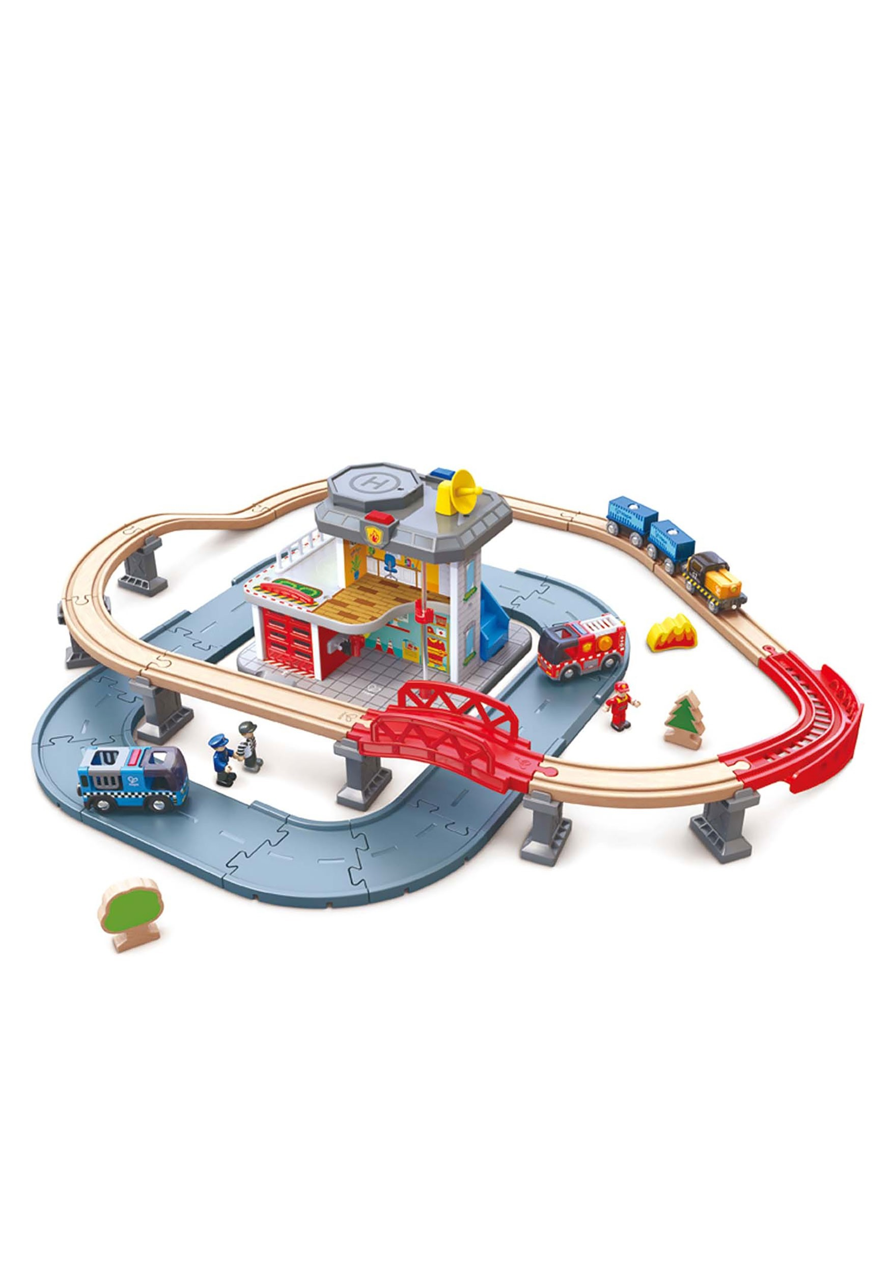 Emergency Services HQ Track Green Roads