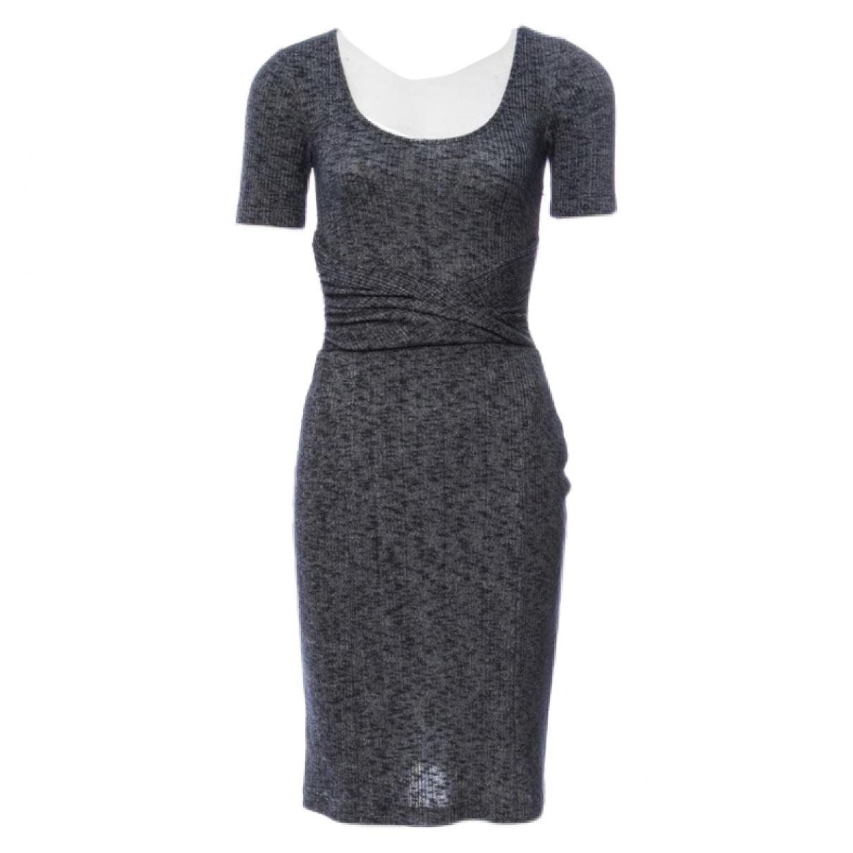 Vena Cava \N Kleid in  Grau Baumwolle - Elasthan