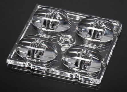 Ledil C13858_STRADA-2X2-XW, Strada-Module Series 4-Way LED Lens, Square Beam (2)