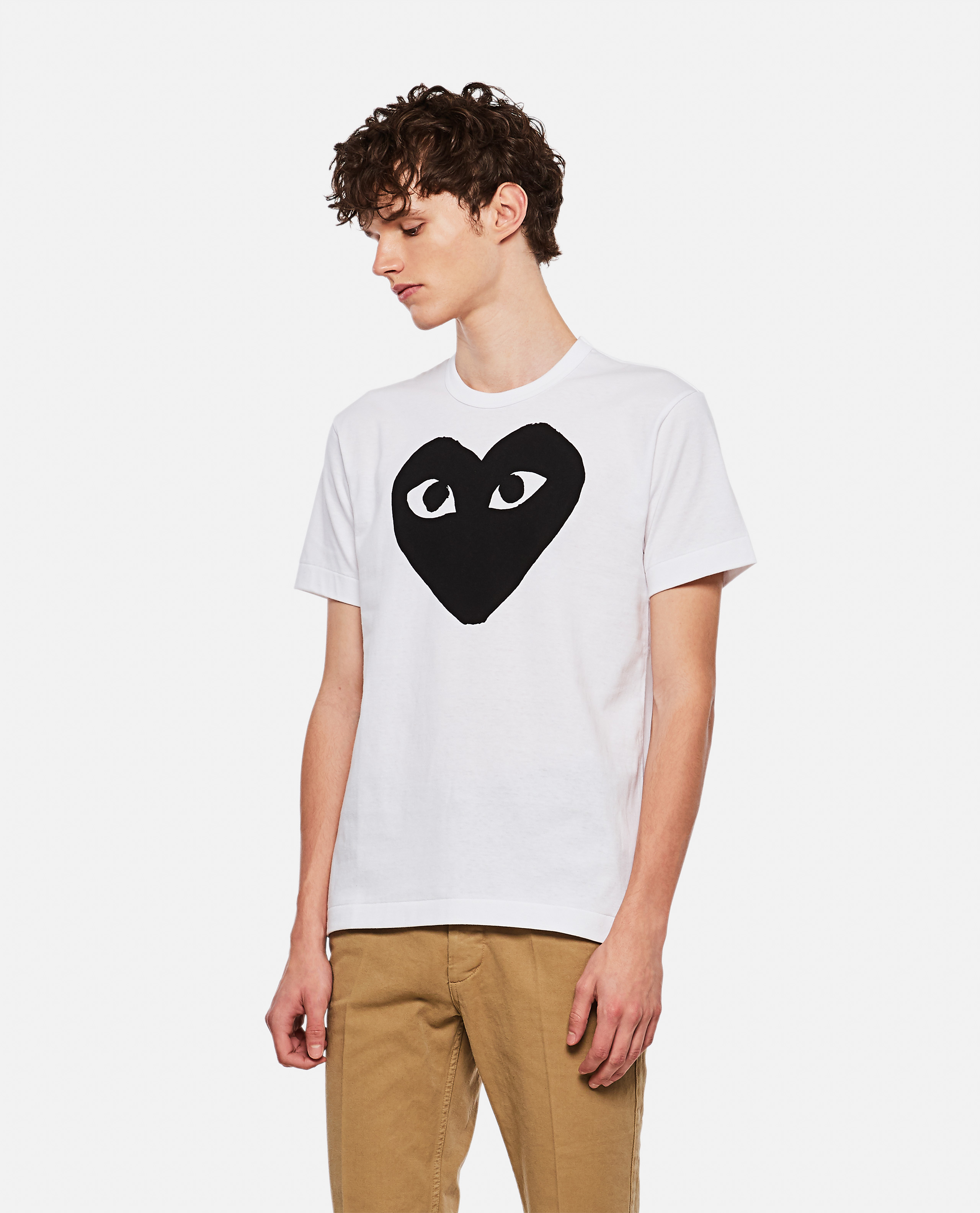 T-shirt with hearts print