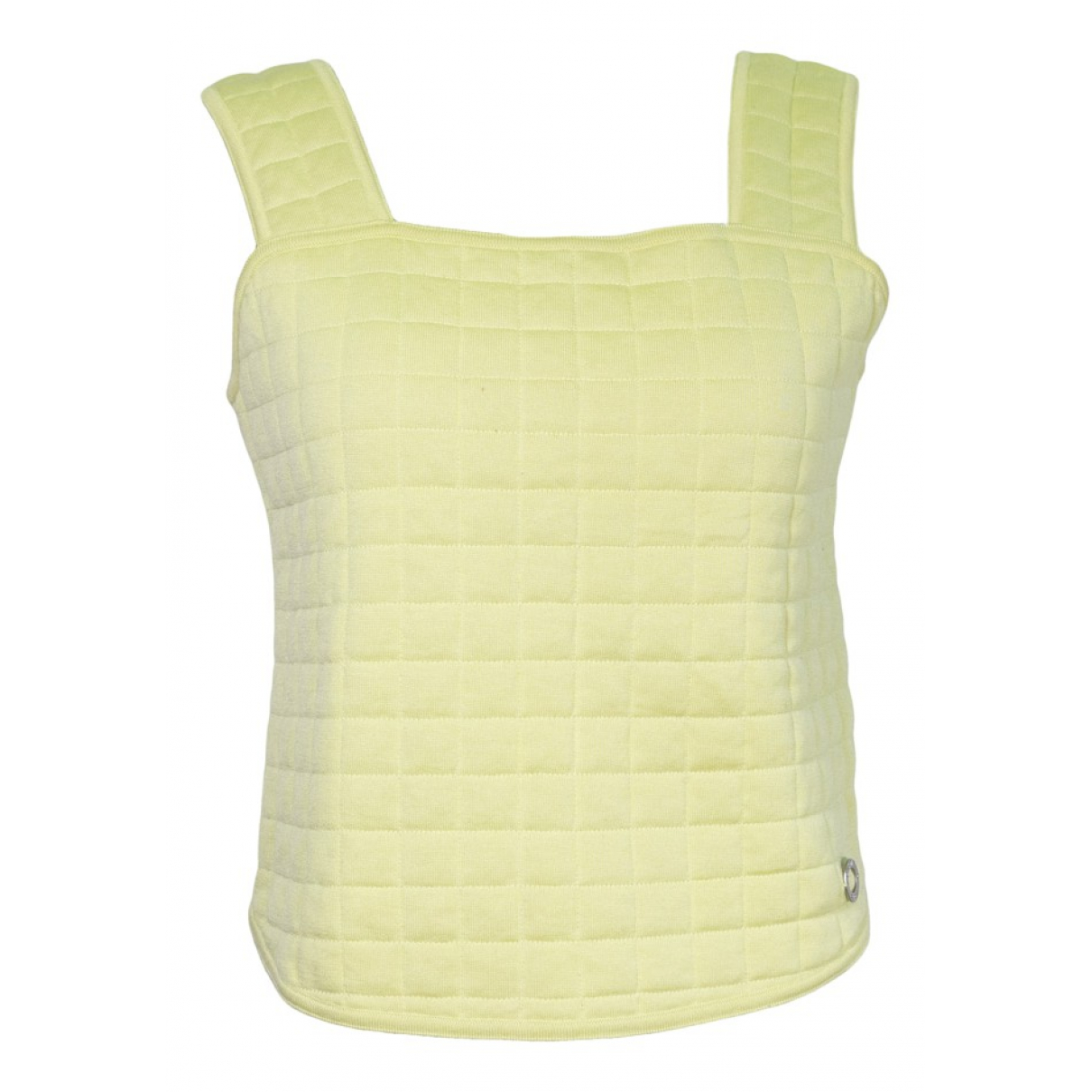 Chanel \N Green Cotton  top for Women 40 FR