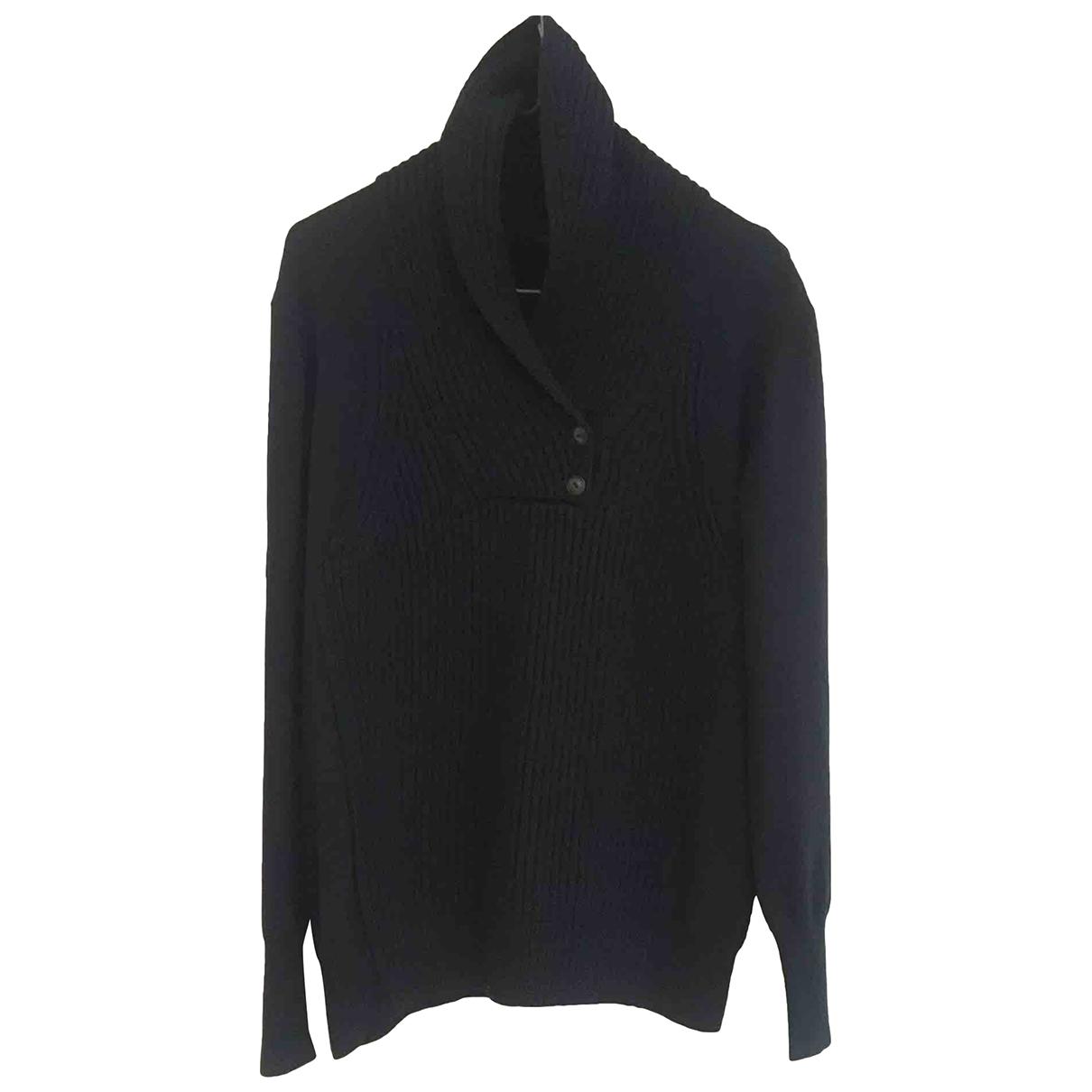 Alexander Wang \N Pullover.Westen.Sweatshirts  in  Marine Wolle