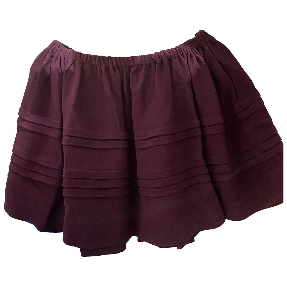 Miu Miu \N Purple skirt for Women 42 IT