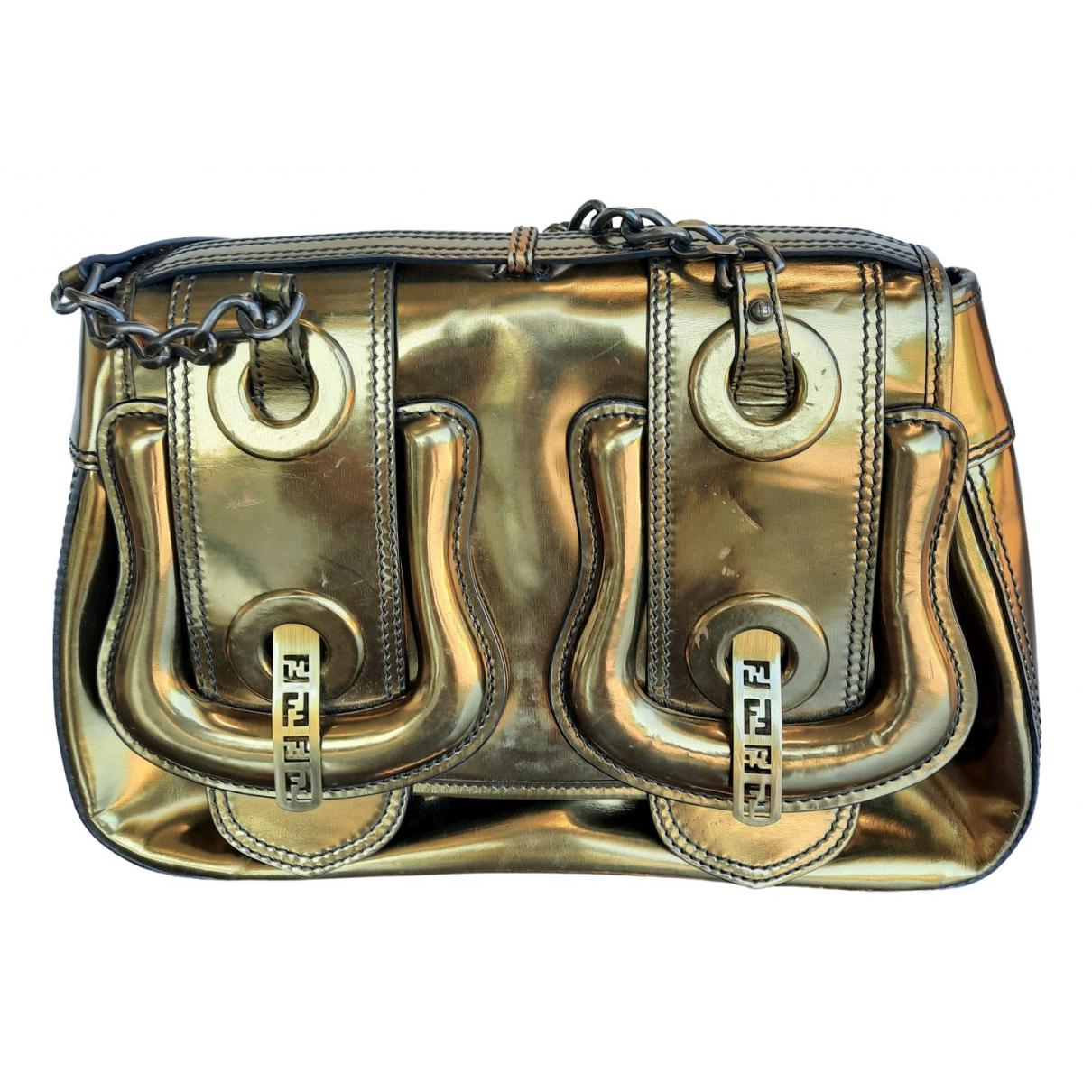 Fendi B Bag Handtasche in Lackleder