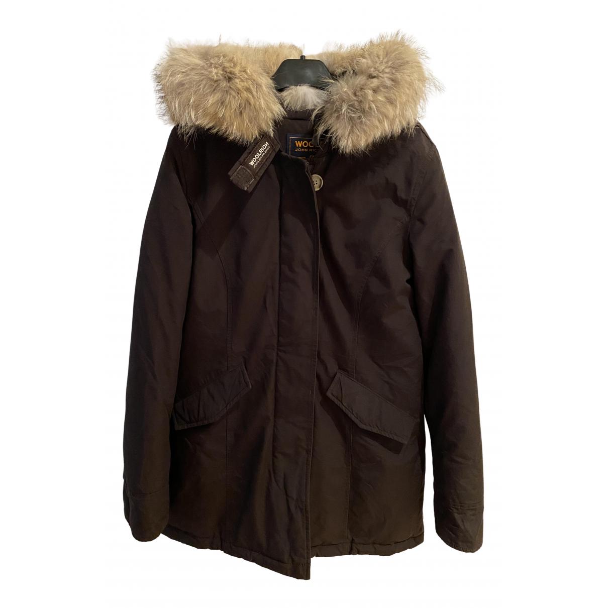 Woolrich N Brown jacket for Women 36 IT