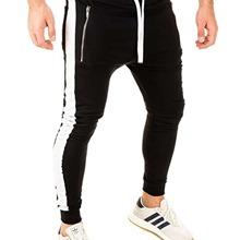 Pantalones para hombre Cremallera Monocolor Preppy