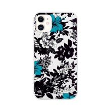 1pc Flower Print iPhone Case