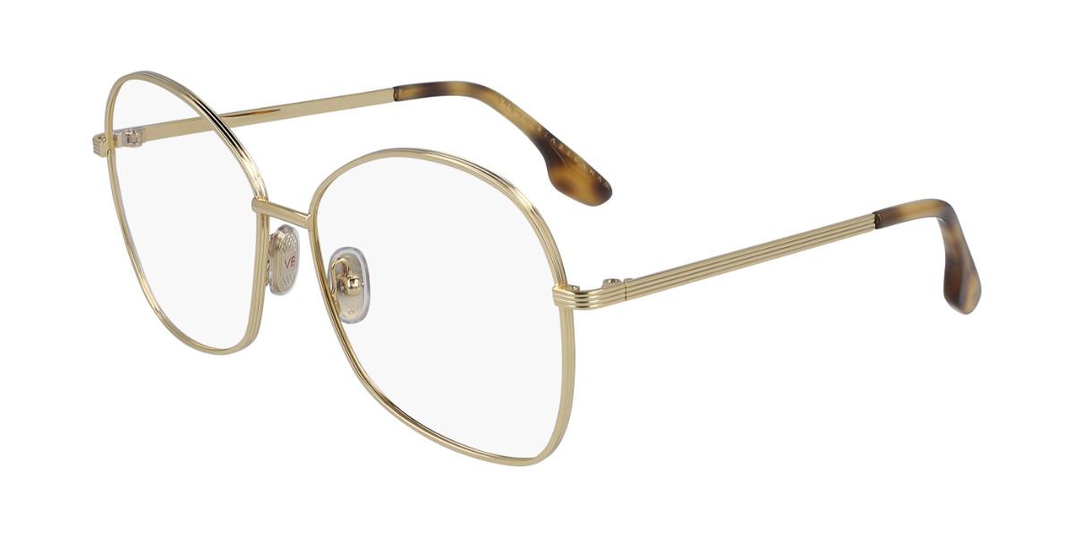 Victoria Beckham VB220 714 Women's Glasses Gold Size 58 - Free Lenses - HSA/FSA Insurance - Blue Light Block Available