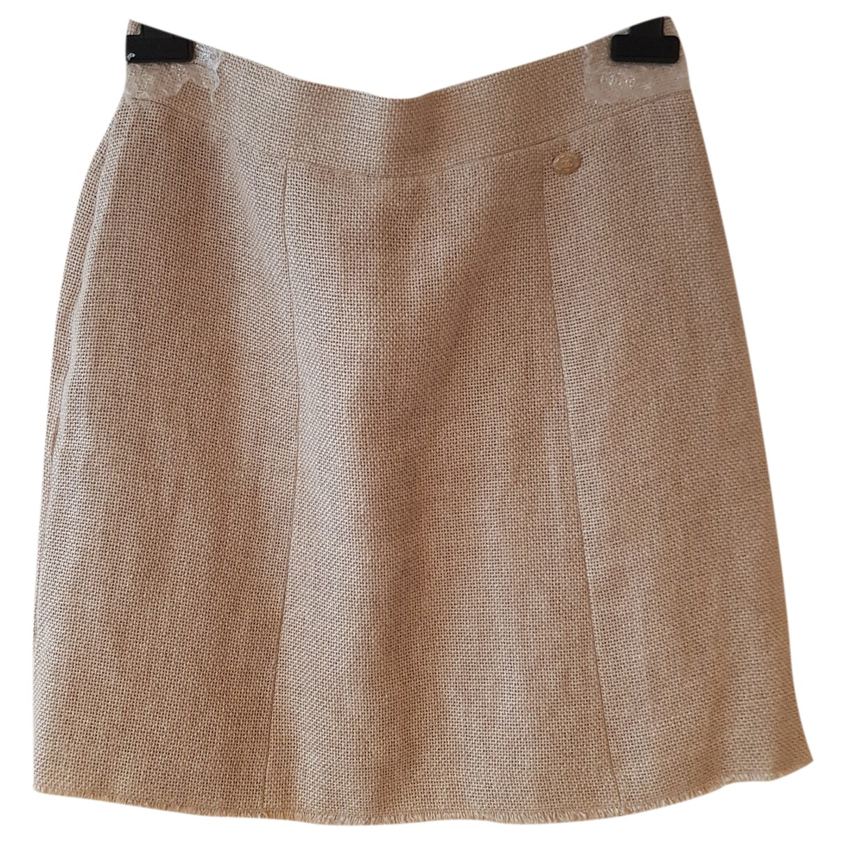 Falda midi de Lino Chanel