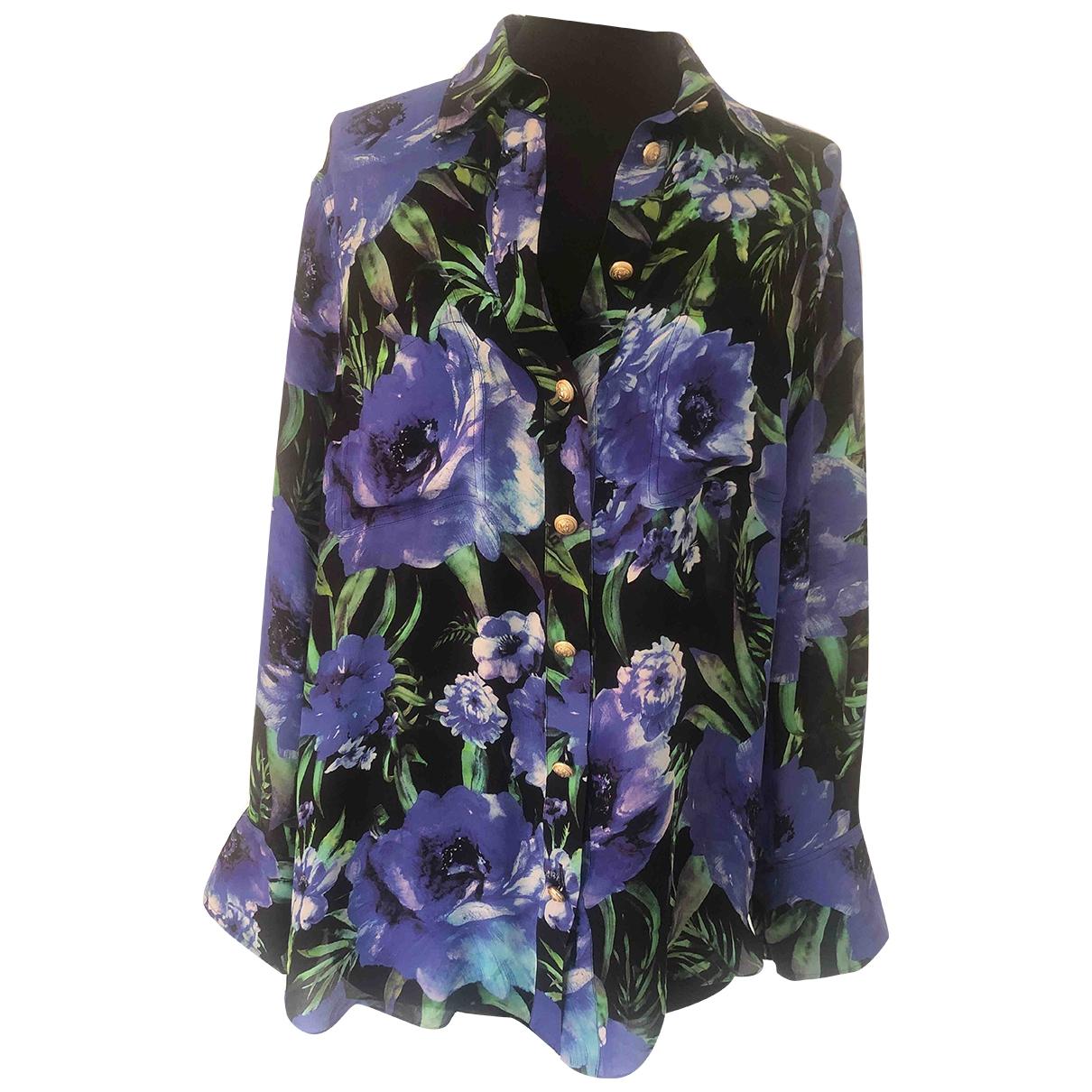 Balmain \N Multicolour Silk  top for Women 42 FR