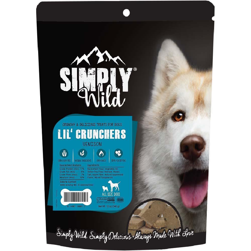 Simply Wild Lil' Crunchers - Venison (12 oz)