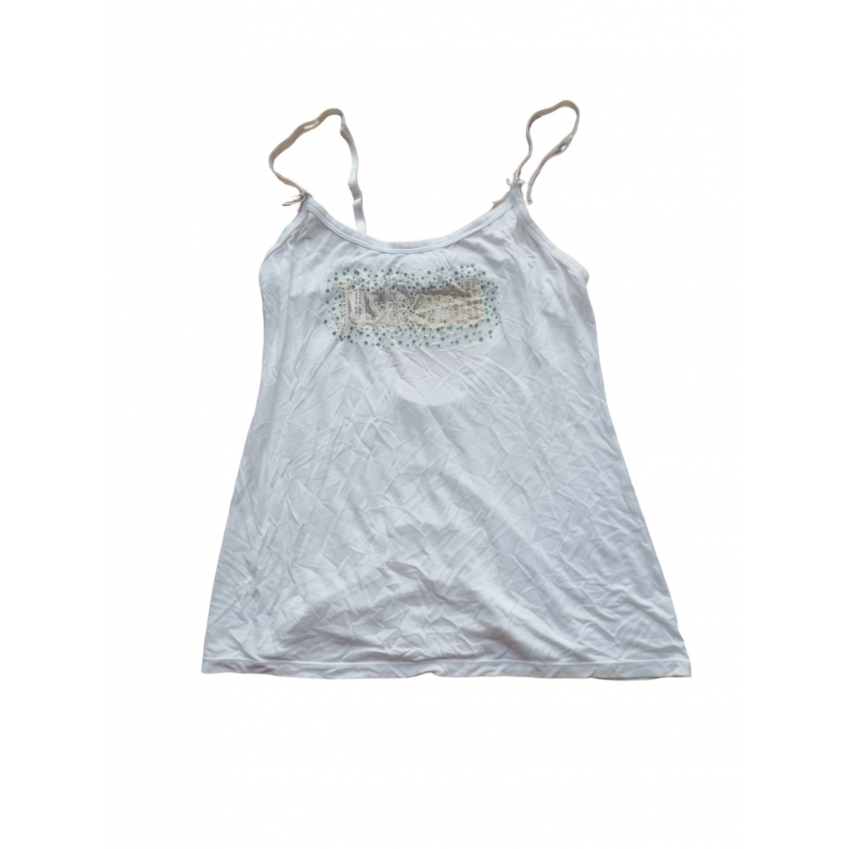 Just Cavalli \N White Cotton  top for Women 40 IT